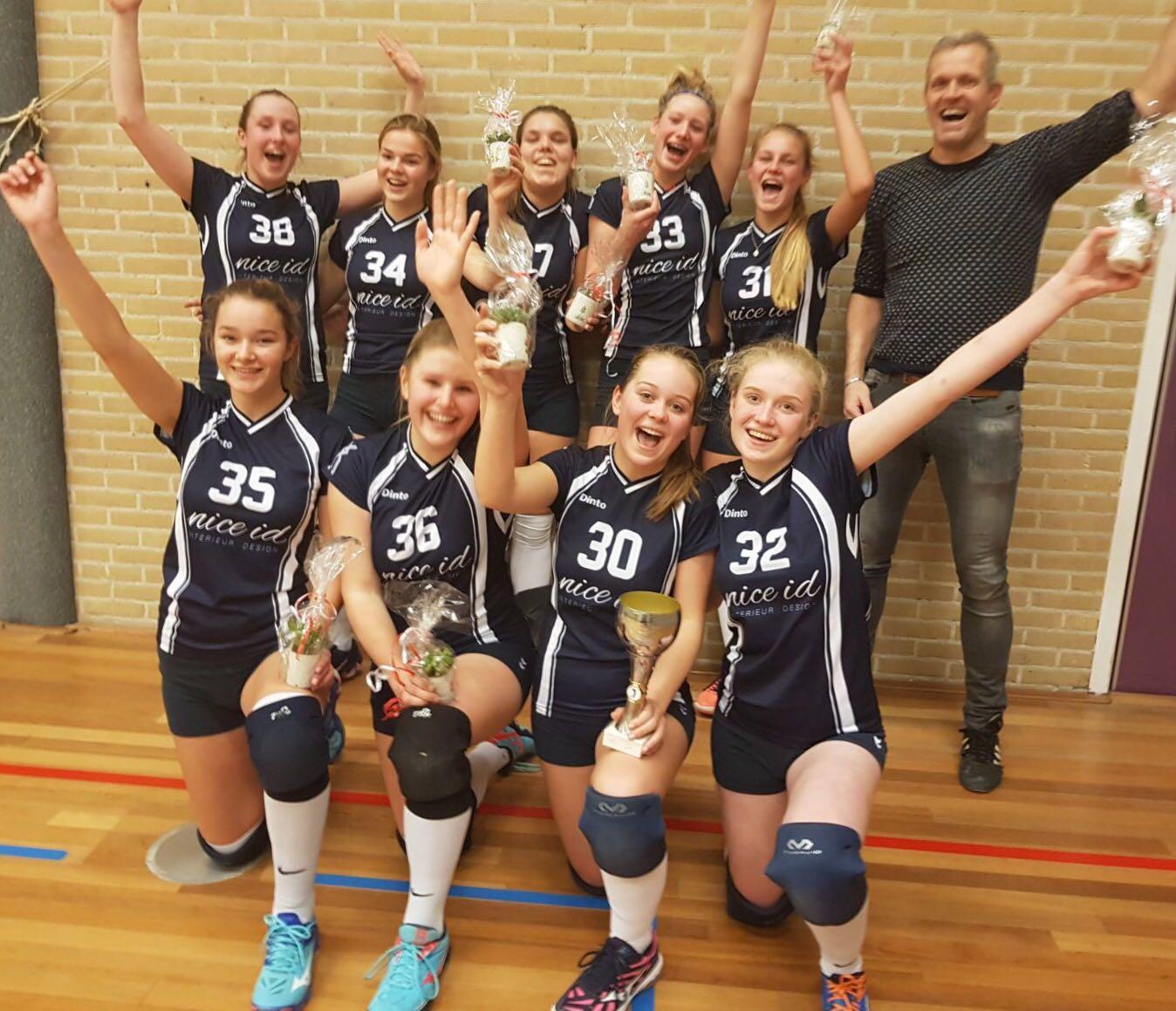 Volleybal Dinto Mb Hoofdklasse Vereniging 1 Kampioen A RL4Aj35